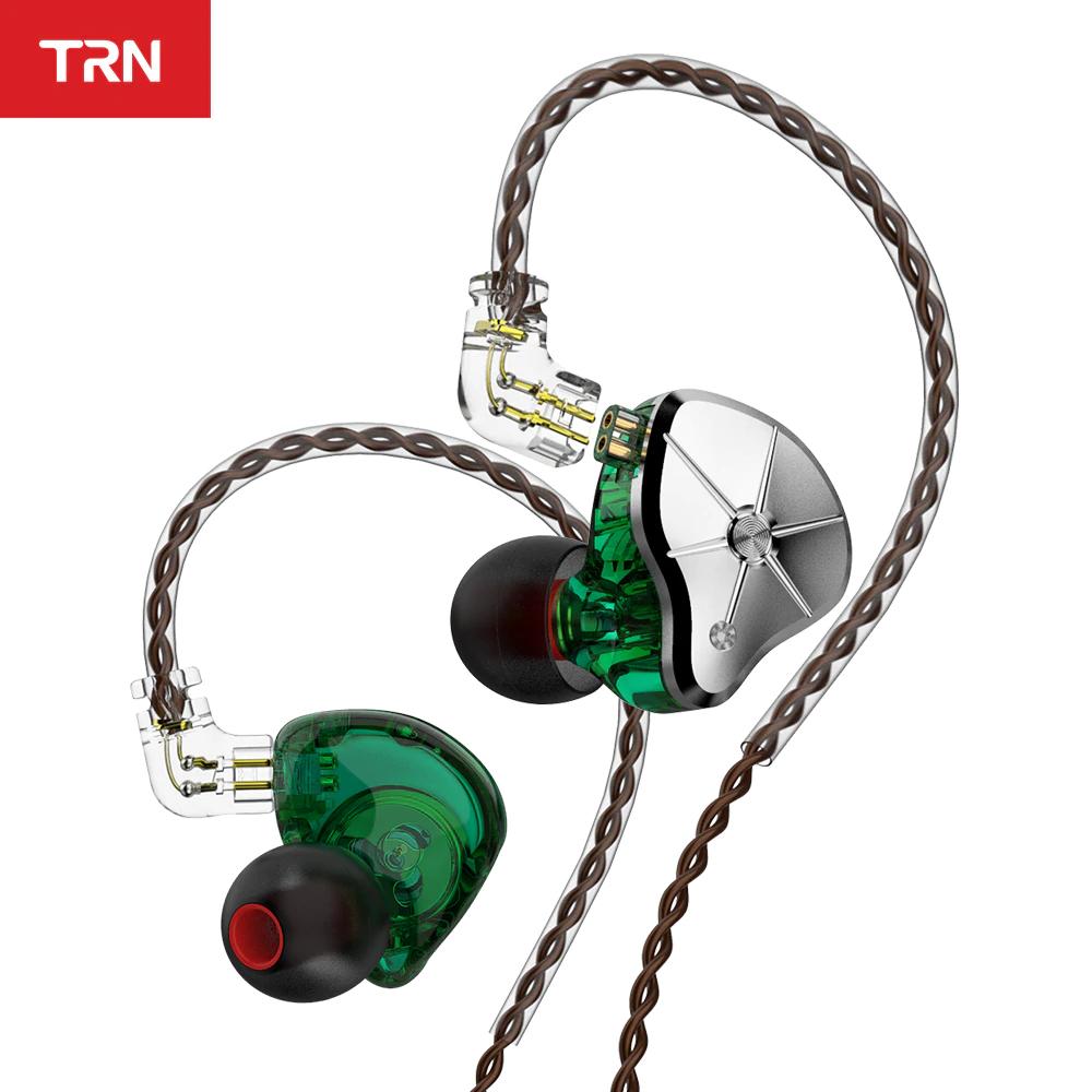 Auriculares híbridos TRN STM - 1dd+1ba - Cable reemplazable - Filtros de sonido
