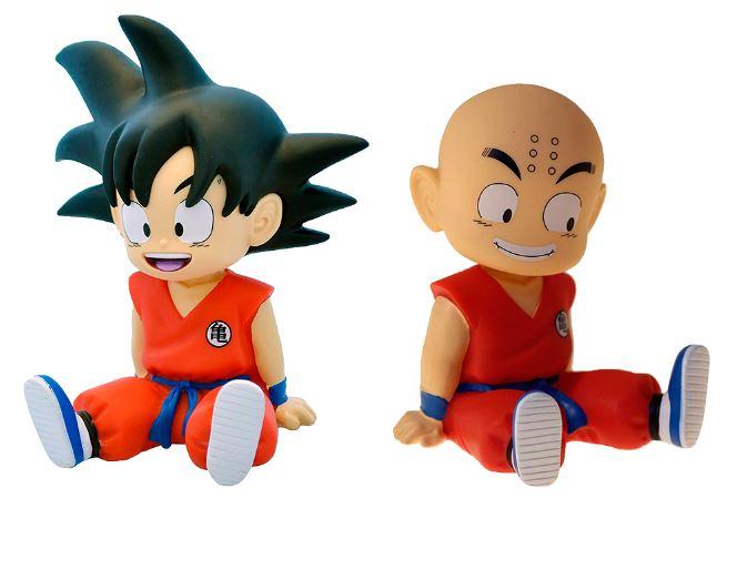 Mini Hucha 13,5 cm PVC Dragon Ball: Dos Modelos a elegir (Goku y Krillin) - Mínimo histórico vendido por Amazon