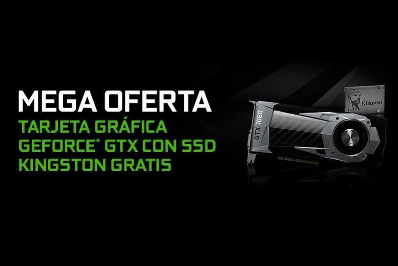 SSD GRATIS por comprar tarjetas gráficas Nvidia en PcComp