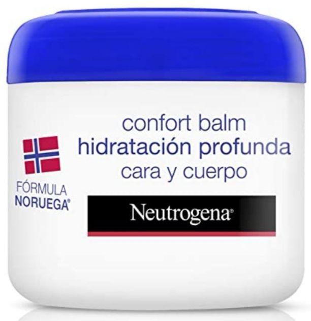(Pack de 2X300ml) Neutrogena Bálsamo Hidratación Profunda Cara y Cuerpo, Piel Seca (Precio Mínimo)