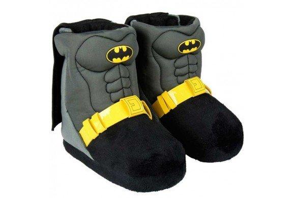 Botas de ir por casa Batman para niño