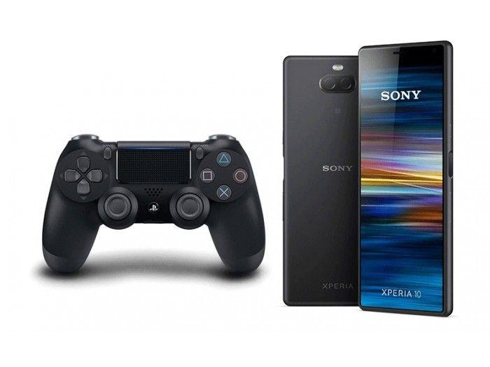 Pack SONY: Smartphone Sony Xperia 10 3/64GB Negro + Sony Dualshock PS4 V2 Negro