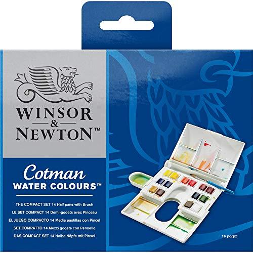 Caja acuarela 14 colores