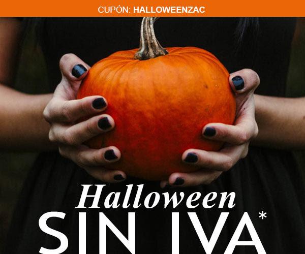 Halloween sin IVA en Zacaris