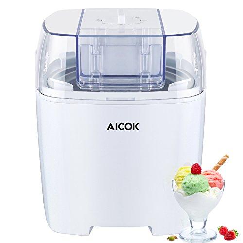 Máquina de hacer helados, yogur y sorbetes 1,5L
