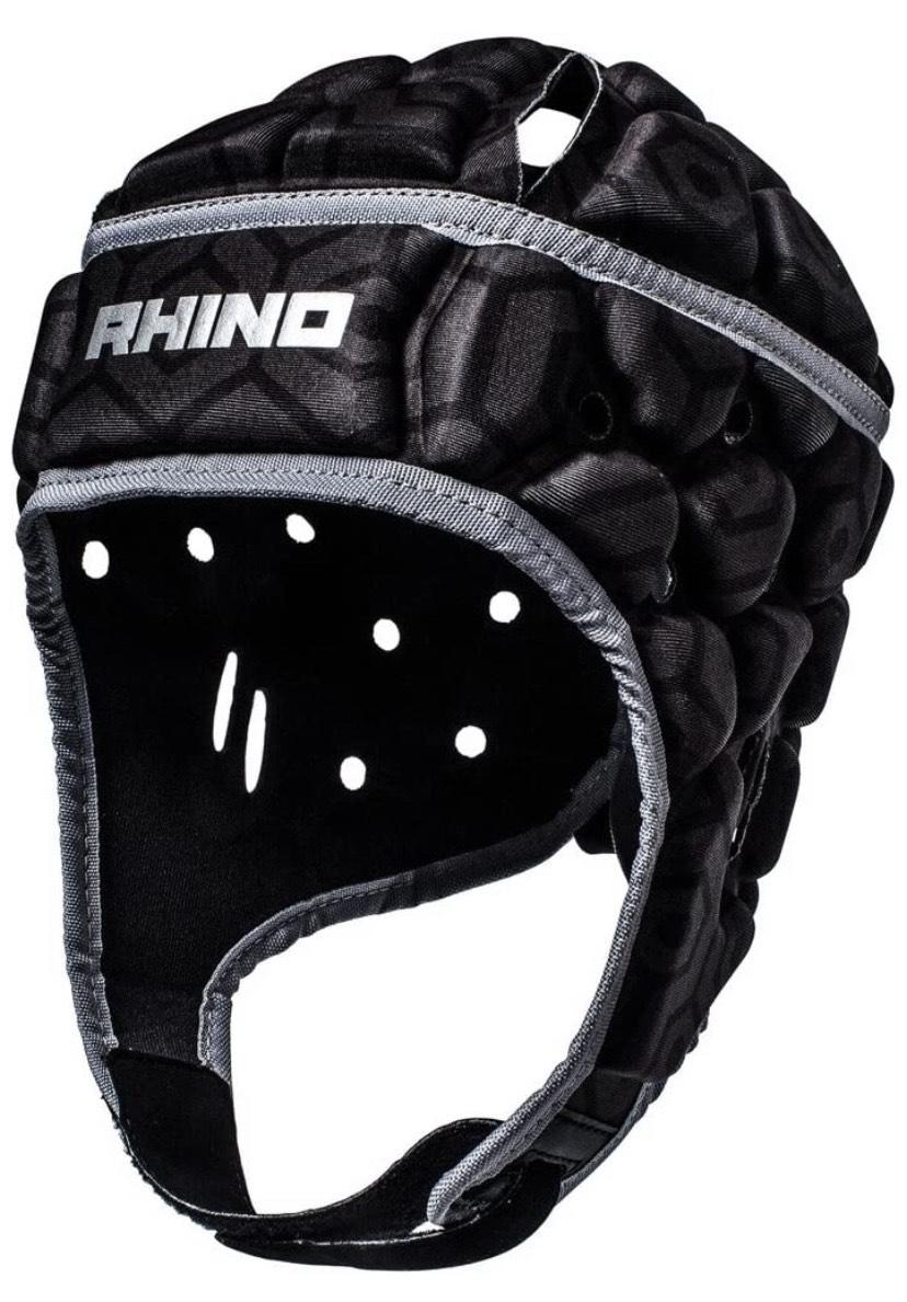 Talla médium Rhino Pro Head Guard Protector de Cabeza, Unisex Adulto