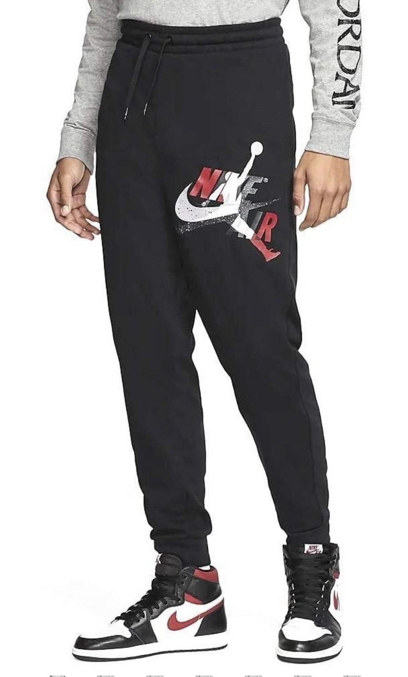 Talla XL pantalones NIKE M J Jm Clscs LTWT FLC