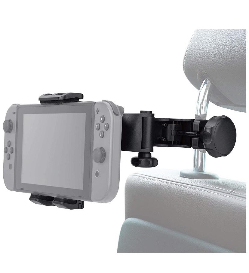 FR-TEC - Soporte Reposacabezas del Coche (Nintendo Switch / Nintendo Switch Lite)