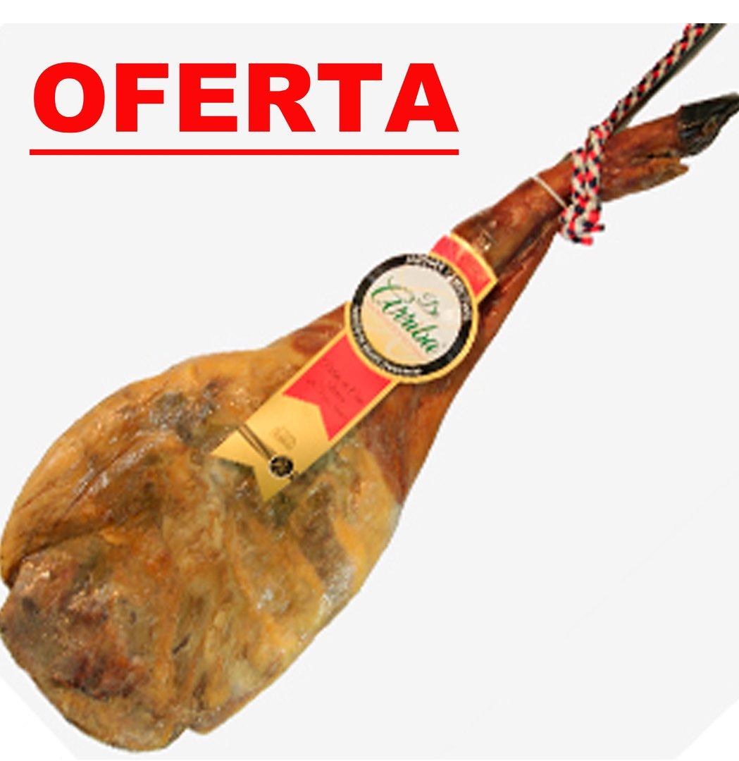 PALETA IBÉRICA DE CEBO. 50% RAZA IBÉRICA. PUERTO DE BEJAR (SALAMANCA). MÁS DE 4,8KG.