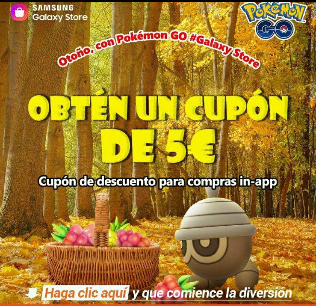 5€ gratis Pokemon Go.