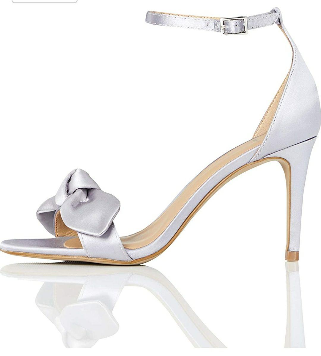TALLA 36.5 - Marca Amazon - TRUTH & FABLE Zapatos deDama de Honor Mujer