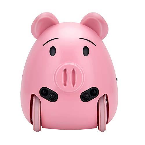 Mascota interactiva cerdito, color rosa