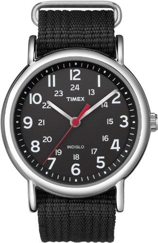 Timex Reloj análogico de cuarzo RG-ILSATINSTRPSHT