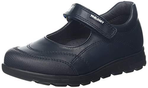 Zapatos Colegiales PABLOSKY para Niña, color Azul, talla 24