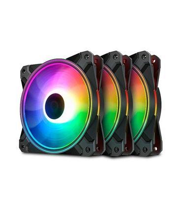 DeepCool CF120 Plus Pack 3 Ventiladores 120mm ARGB