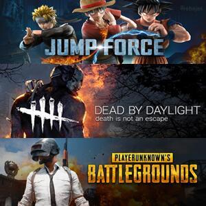 Juega GRATIS Dead by Daylight, PUBG y Jump Force @XBOX