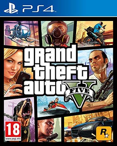 Grand Theft Auto V (GTA V) (PS4) + 1.250.000 GTA$ (Gratis con la compra)