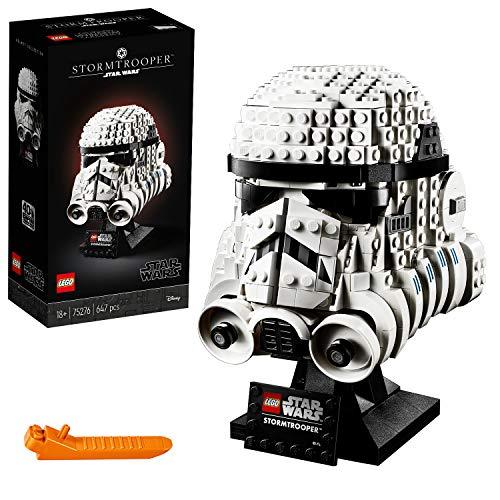 LEGO Star Wars - Casco de Soldado de Asalto, Set de Construcción Coleccionable de Figura de Casco de Stormtrooper Guerra de las Galaxias