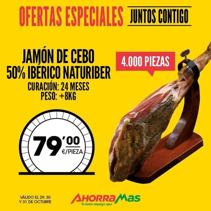 Jamón de cebo 50% IBÉRICO