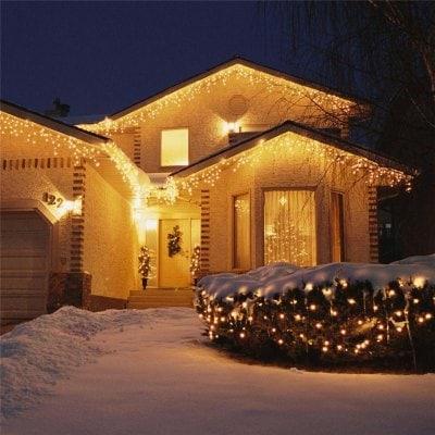 Tira led navideña tono cálido de 3m