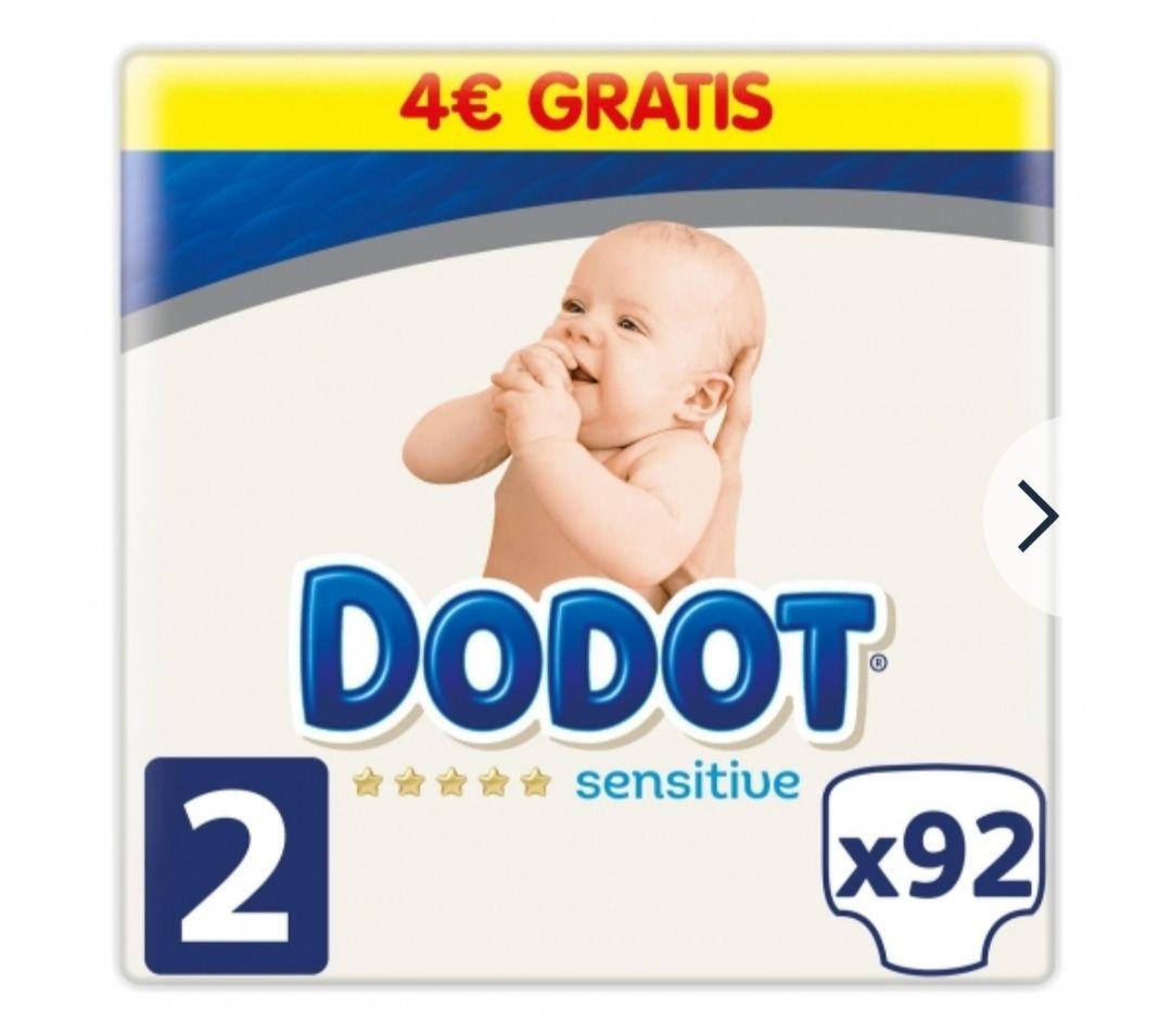 2x1 en Pañales Dodot Sensitive, tallas 2, 3, 4 y 5