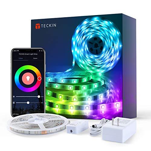 TECKIN Tiras LED RGB Wifi 5M 5050 SMD