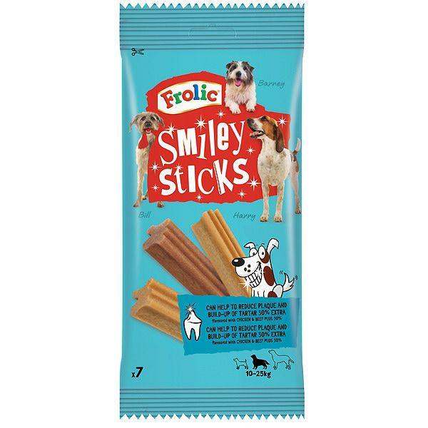 Snacks dental Frolic para perros. Segunda unidad al 70%