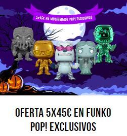 5x45€ Gran Selección de Funko Pop! Pop in a Box