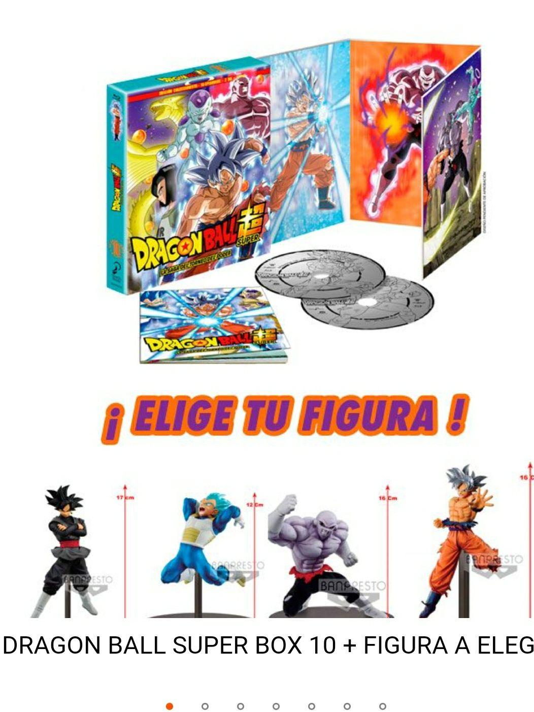 Dragon Ball Super Box 10 BR + Figura