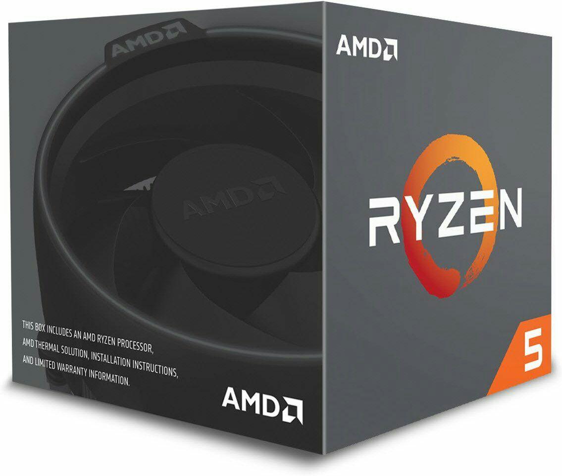 Procesador AMDRyzen 5 2600 - 6 Núcleos, 3.4 GHz (Box) con Ventilador Wraith Stealth
