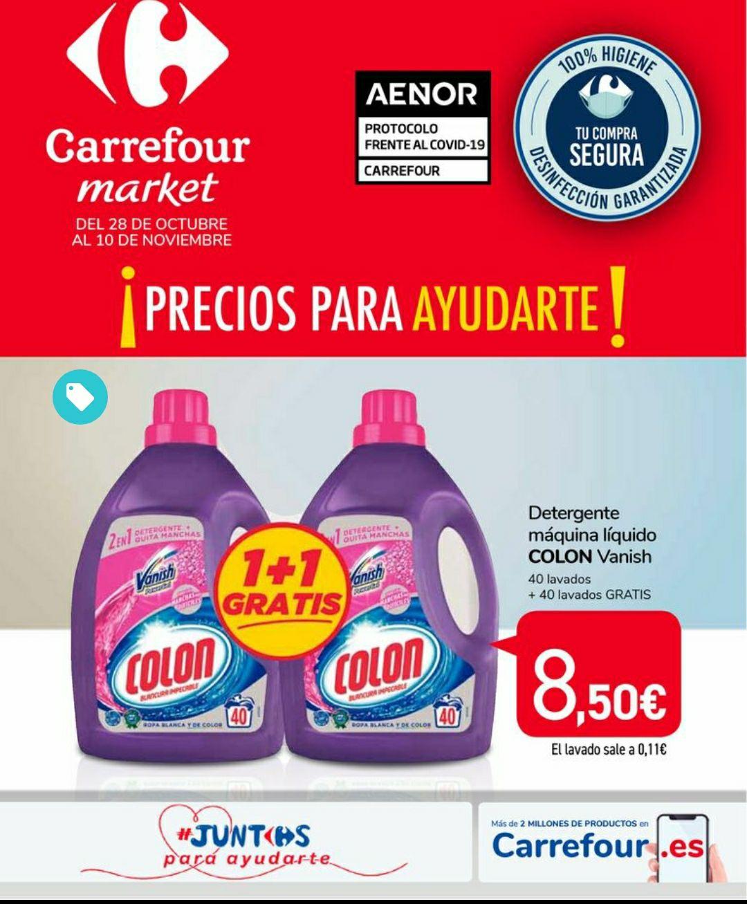 Detergente Colón Vanish 2x1
