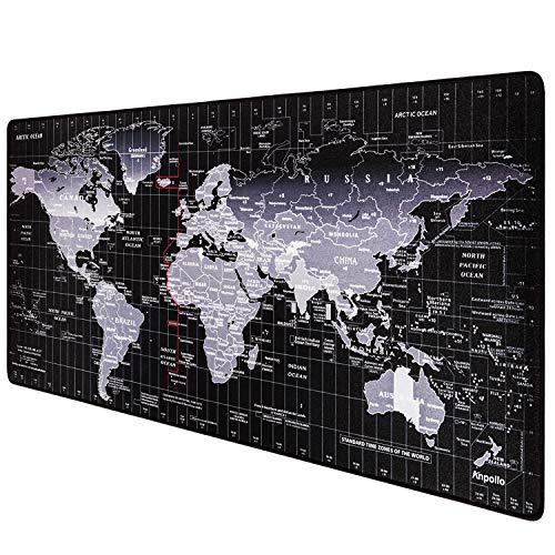 Alfombrilla de ratón XXL mapa del mundo