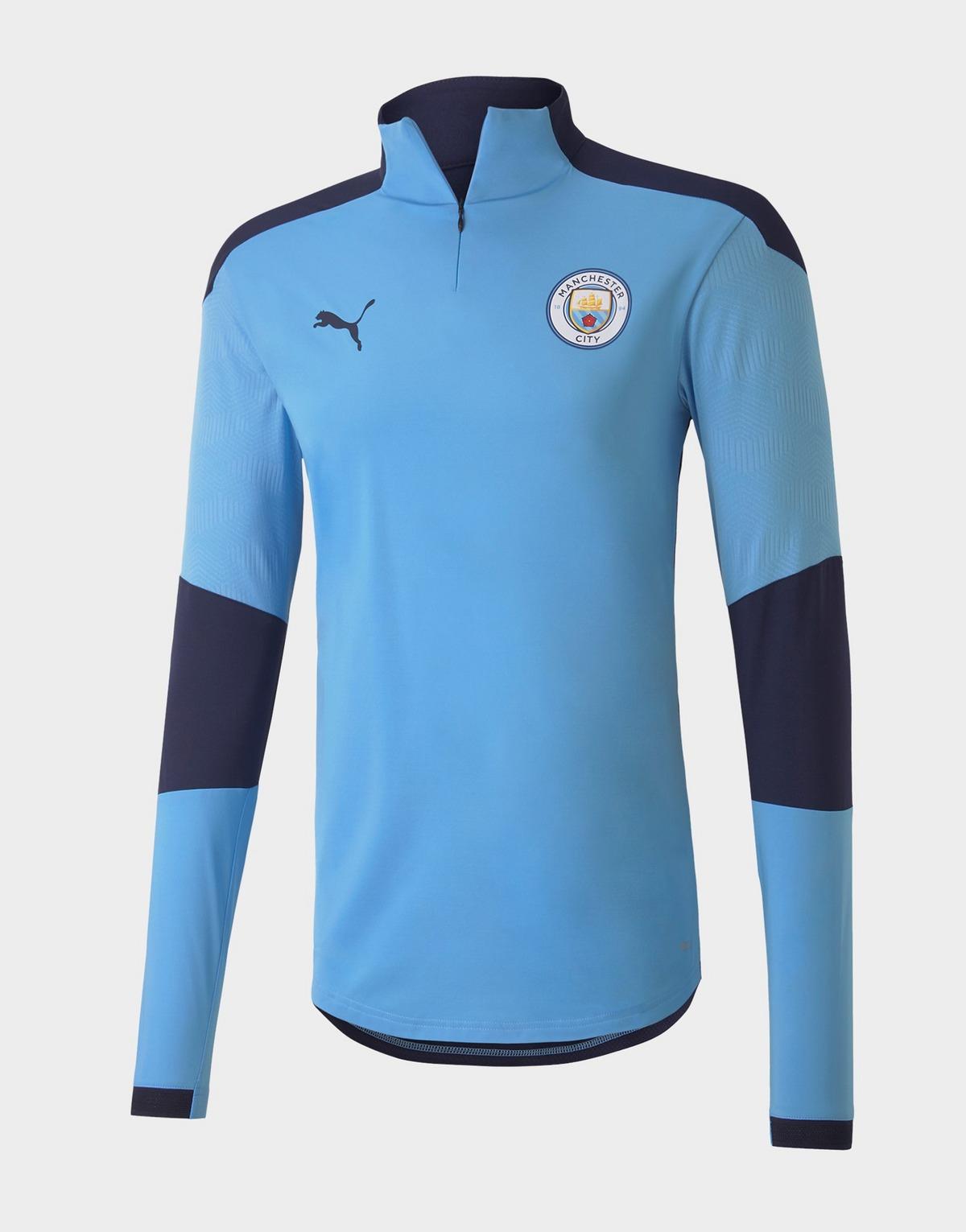 camiseta de entrenamiento Manchester City FC 1/4 Zip