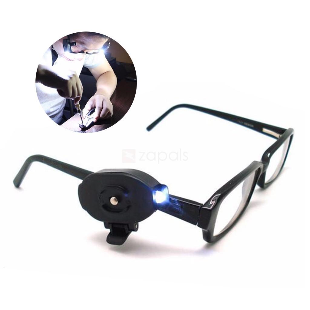 Luz led con pinza para gafas ¡por 0,53€!