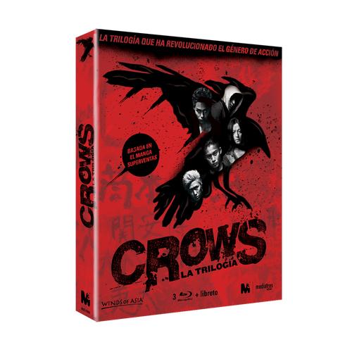 Trilogía Crows en Bluray a 9€!!
