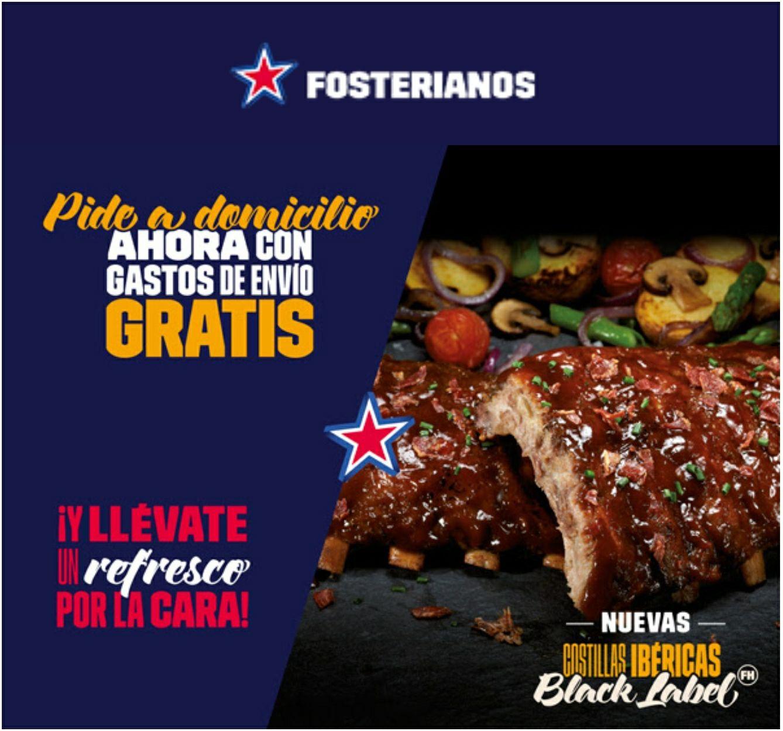 Promocion Fosterianos! Envío + bebida GRATIS