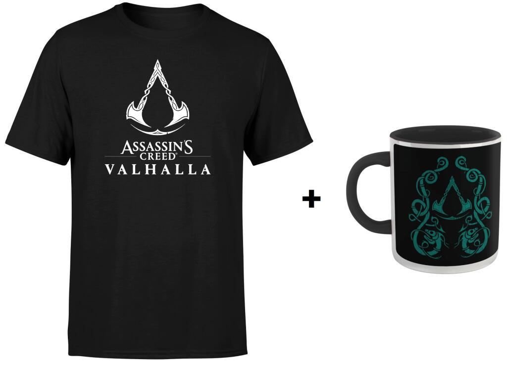 Camiseta + Taza Assassins Creed Valhalla
