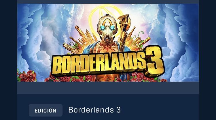 Borderlands 3 - EPICGAMES