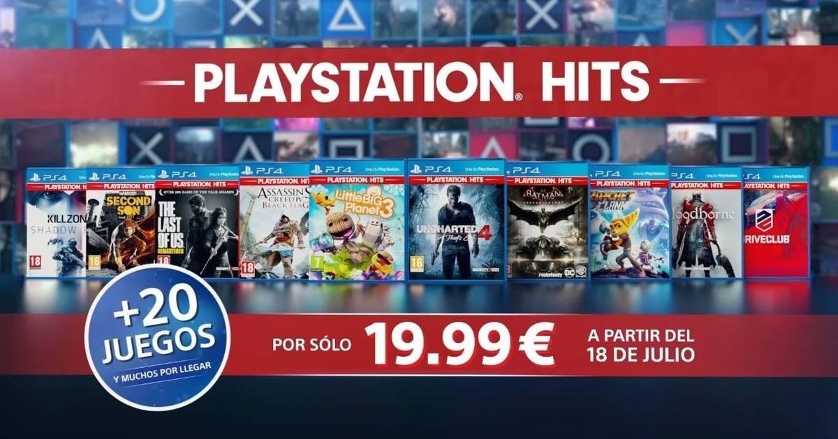 Juegos PS4 a solo 19,99€