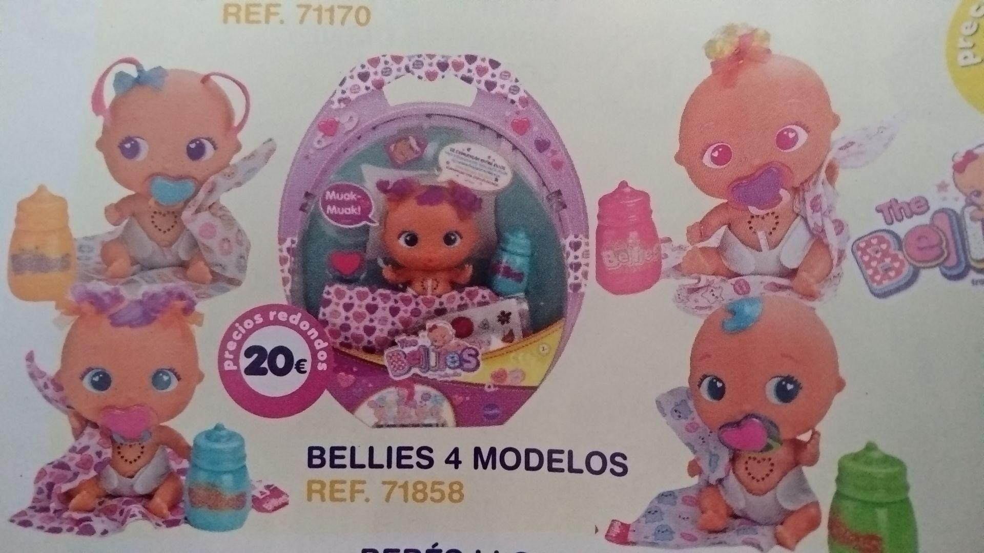 Muñecas Bellies 4 modelos en tiendas MGI