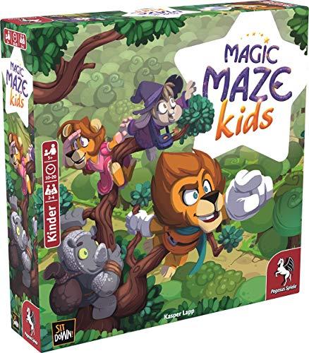 Magic Maze Kids - Juego de Mesa