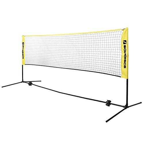 Red de bádminton-tenis altura regulable 3metros