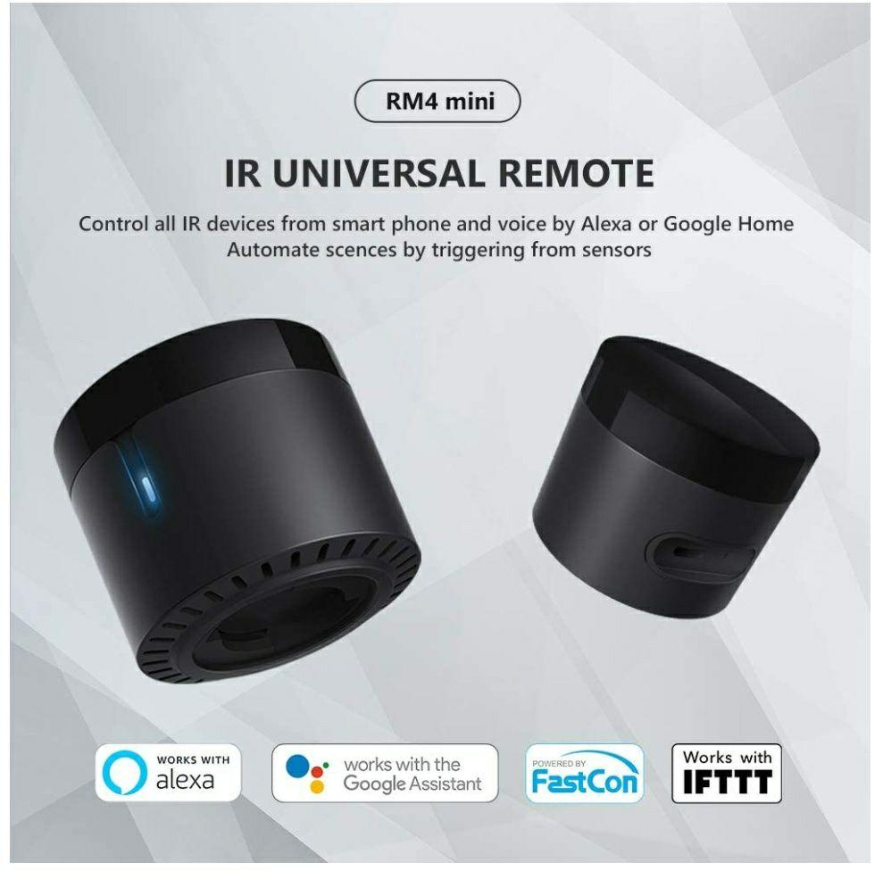 Broadlink RM4 Mini IR Alexa y Google home