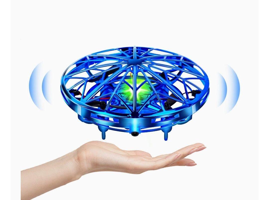 Mini Drone para Niños Flying Toy Recargable UFO Helicóptero 360°Rotación,carga usb