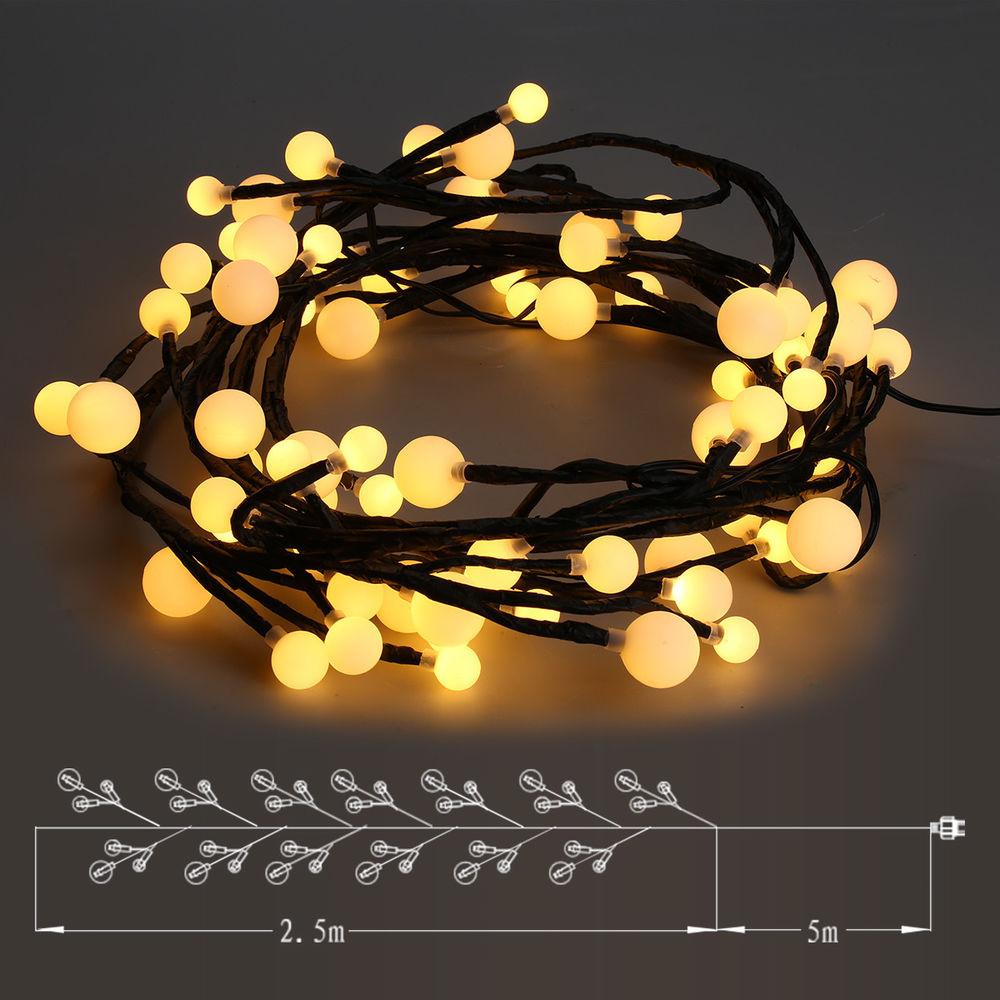 Luces de navidad 2.5m impermeables