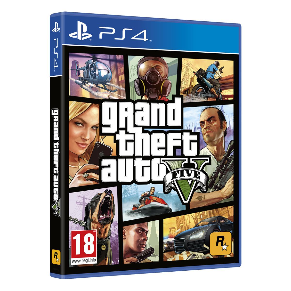 GTA V PS4 y Xbox ONE