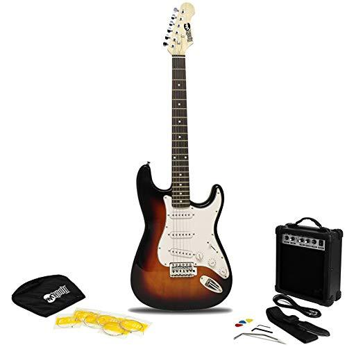 Guitarra Eléctrica RockJam con Amplificador