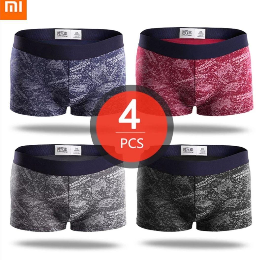 Pack 4 Bóxer Xiaomi Mijia