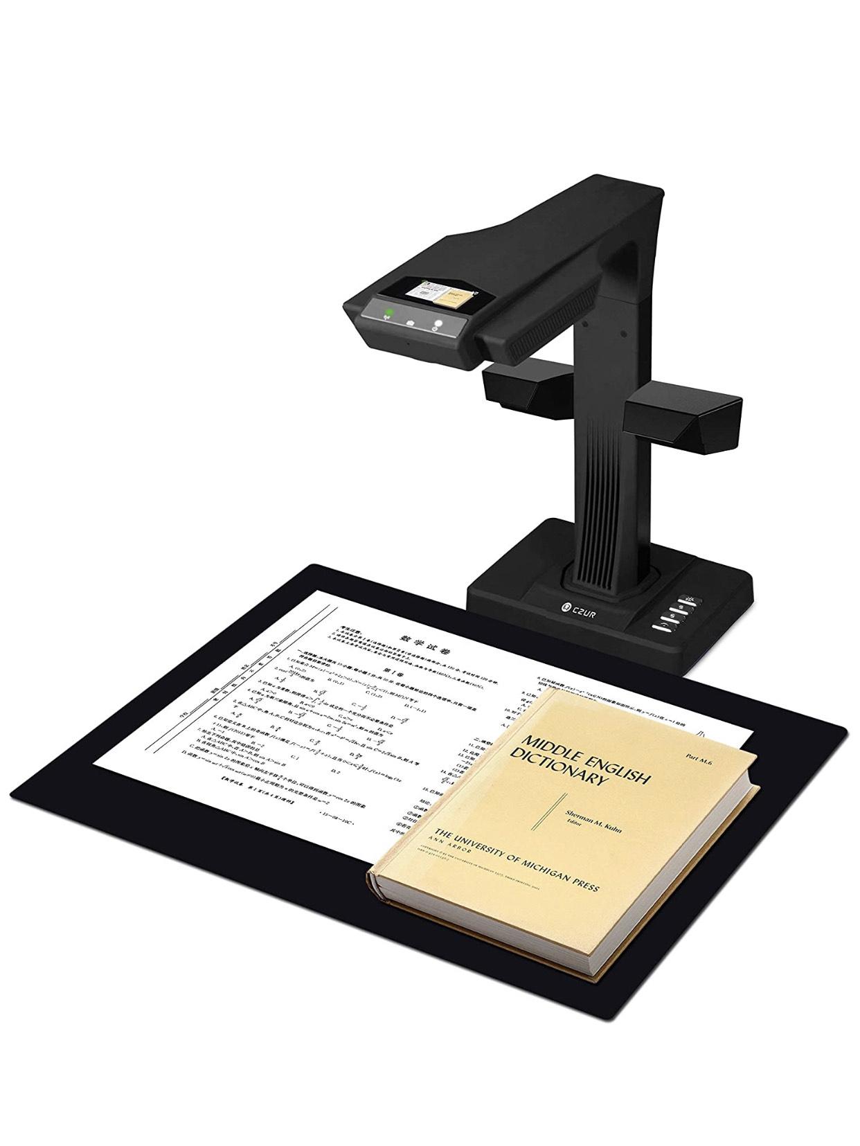 CZUR ET18-P Escáner de Libros Profesional