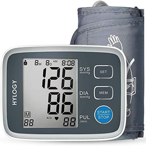Tensiómetro de Brazo Automatico Digital, 2 Memorias de Usuario(2 * 90), Detección de Frecuencia Cardíaca Irregular, Validado Clínicamente